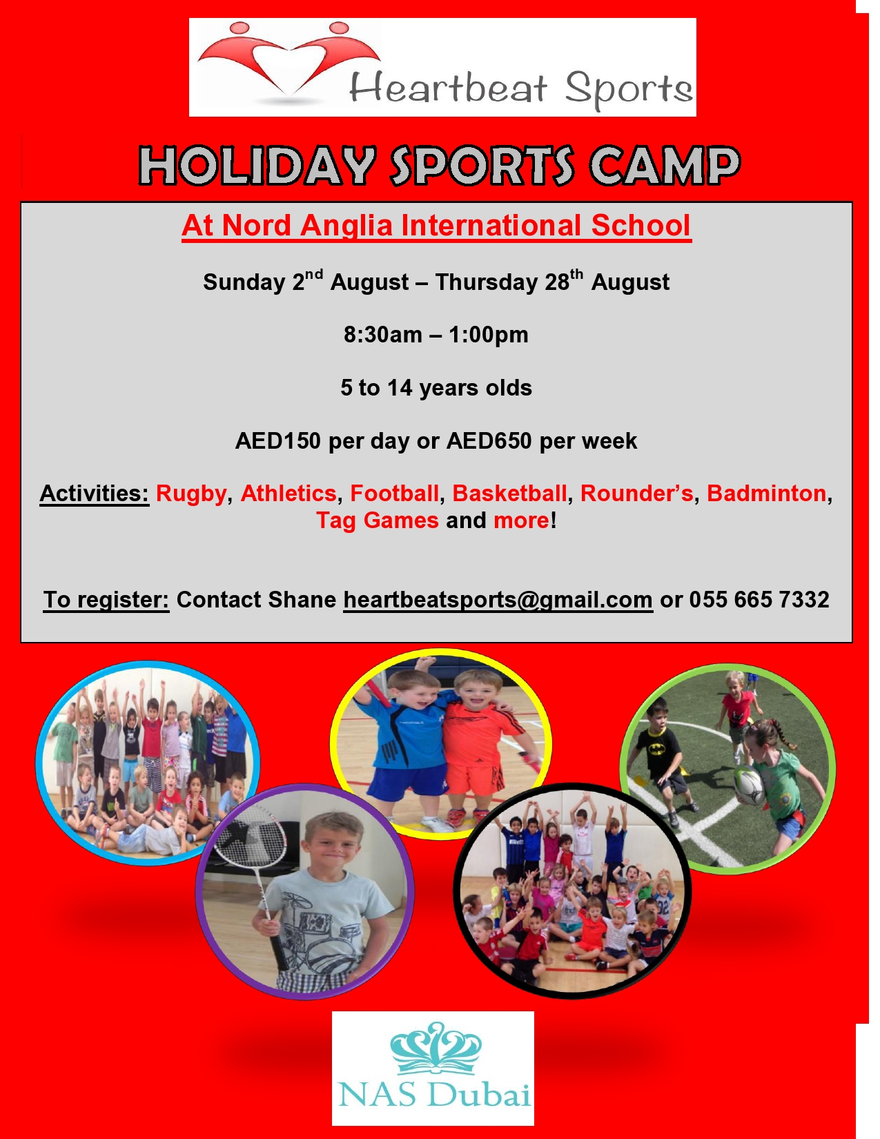 summer holiday camp